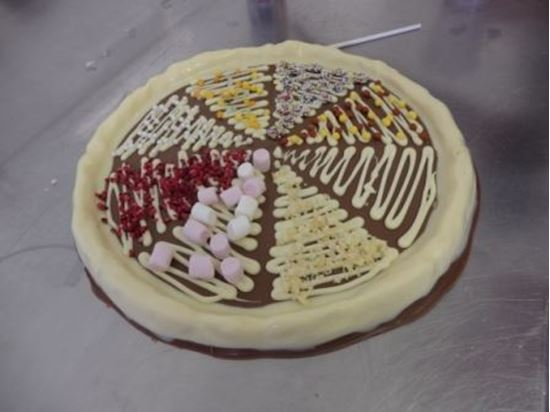 Picture of Chocolate Pizza Making Party
