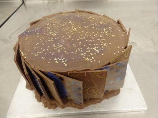 Picture of Round Domino Birthday Cake