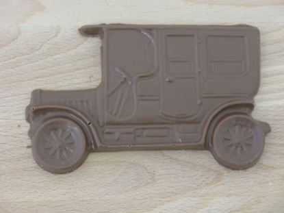 Picture of Chocolate Vintage Car