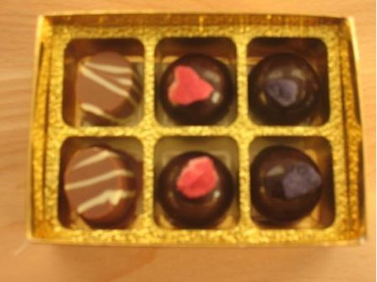 Picture of Box of 6 Truffles