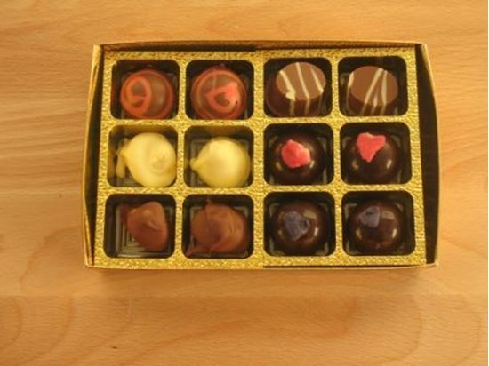 Picture of Box of 12 Truffles
