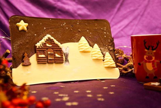 Christmas Half Kilo chocolate bar