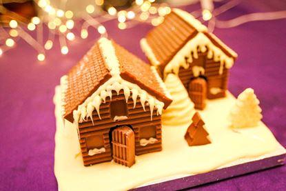 Winter Chalet Village