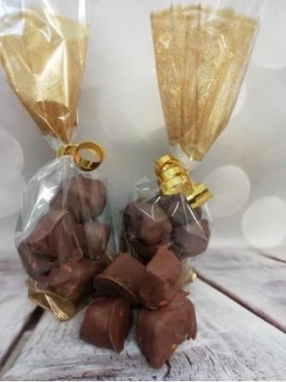 Chocolate Dipped Honeycomb Chunks
